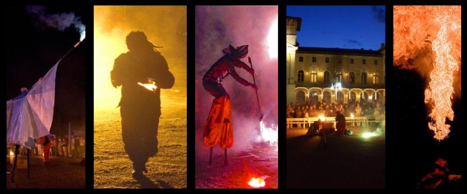 Spektakle plenerowe i pokazy - sztuka ognia i dymu!